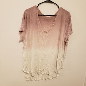 5 for $25 Ombre Pink Top